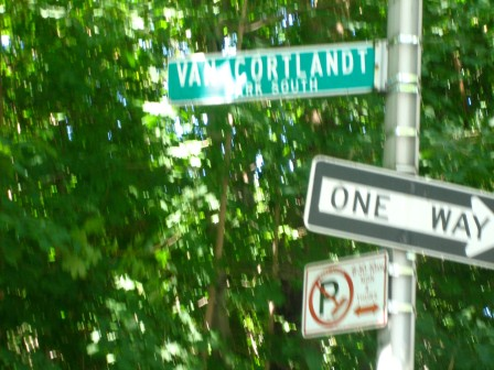 VCPS Street Sign