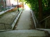 VCPS step street, looking down